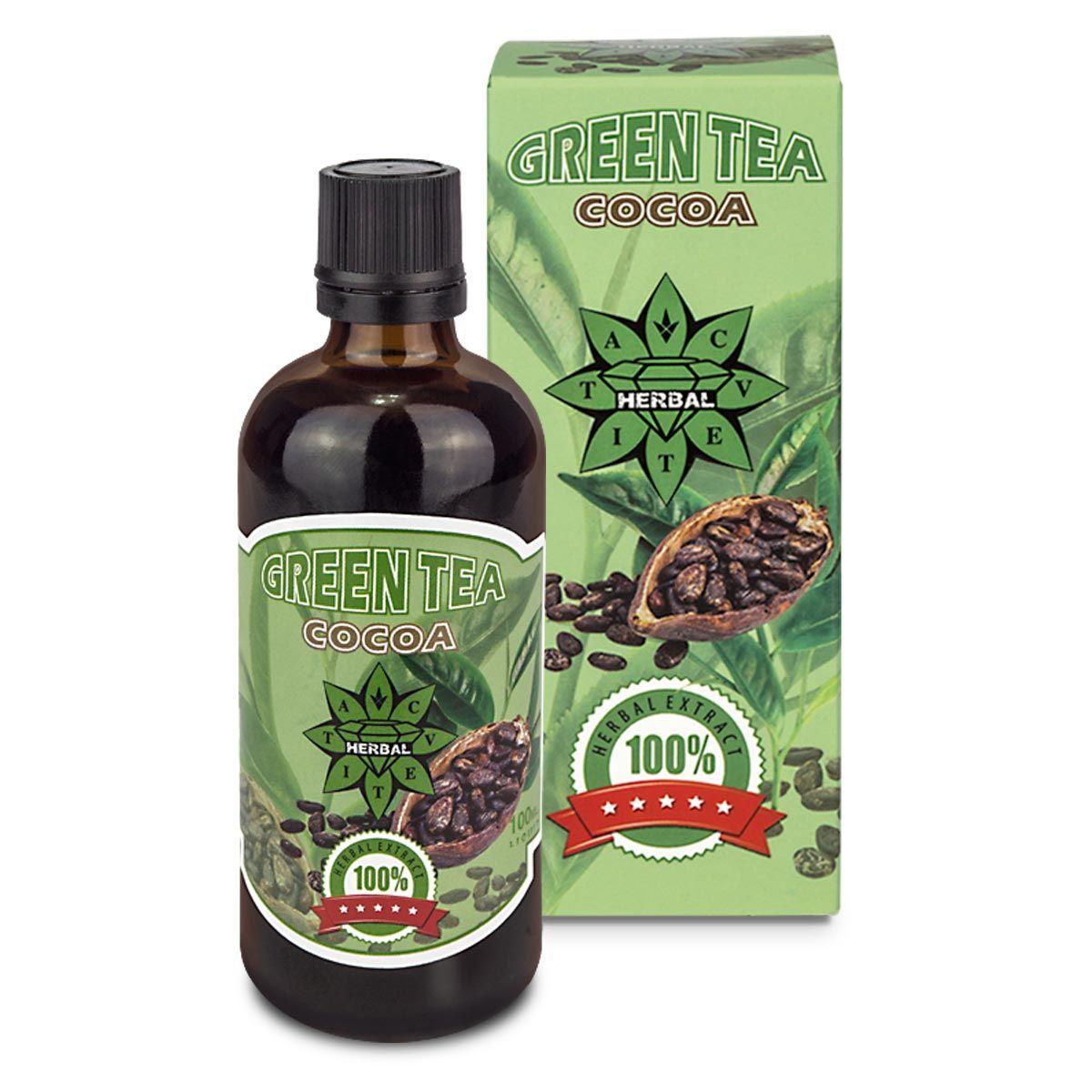 Зелен Чай с Какао - Натурален Тоник от Здравитал